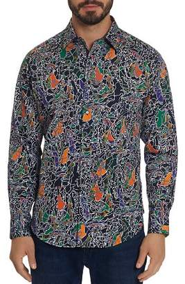 Robert Graham Samurai Printed Classic Fit Shirt