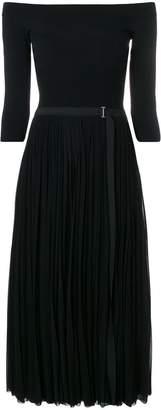 Alexander McQueen pleated midi dress