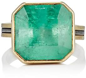 Judy Geib Women's Colombian Emerald Ring