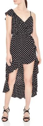 Sandro Kadey Polka Dot Dress $395 thestylecure.com
