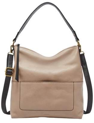 Fossil Amelia Hobo Handbag Taupe