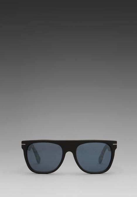 Super Flat Top in Mat Black/Mat Black & Mat Puma