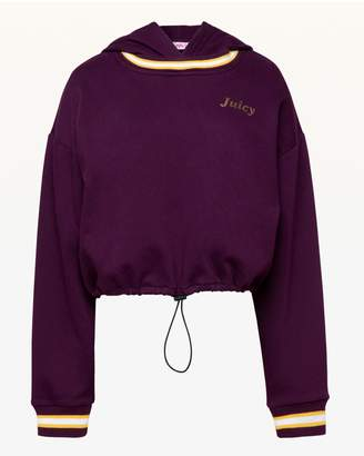 Juicy Couture JXJC Cinched Hooded Pullover