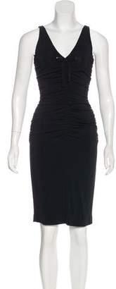 Paule Ka Jersey Knee-Length Dress
