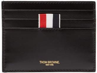 Thom Browne Toy Icon Embossed Leather Cardholder - Mens - Black