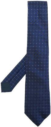 Lanvin embroidered tie