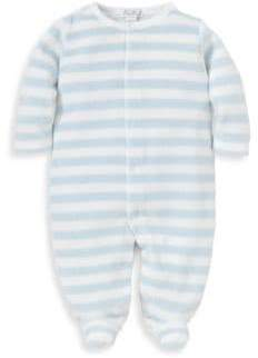 Kissy Kissy Baby Boy's Jungle Out There Striped Footie