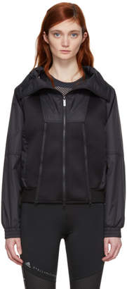 adidas by Stella McCartney Black Train High Collar Jacket