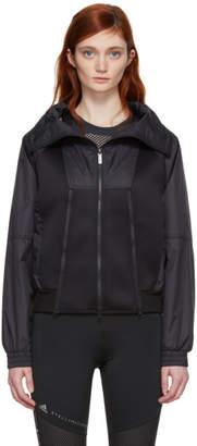 adidas by Stella McCartney Black Train High Collar Jacket