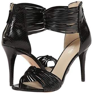 Nine West Women's Dechico Synthetic Heeled Sandal