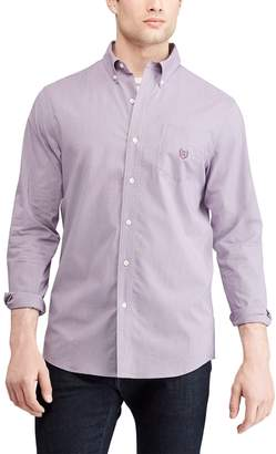 Chaps Big & Tall Regular-Fit Easy-Care Stretch Button-Down Shirt