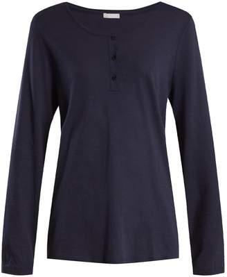 Hanro Round-neck cotton-jersey top