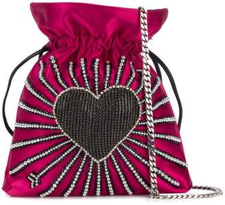 Les Petits Joueurs Trilly heart cupid bag