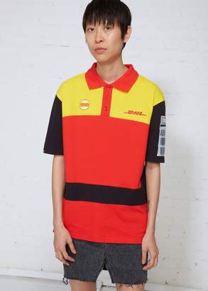Vetements DHL AWB Polo