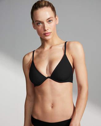 Express Solid Underwire Bikini Top