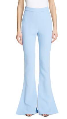 Cushnie High Waist Split Flare Pants