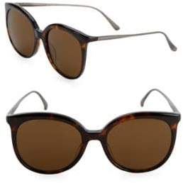 Bottega Veneta 53MM Round Sunglasses