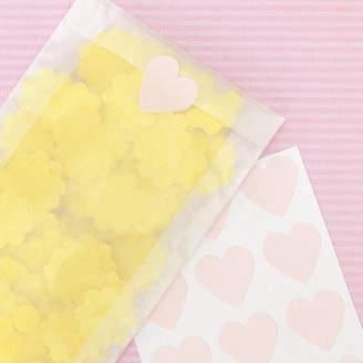 STUDY Peach Blossom Heart Stickers
