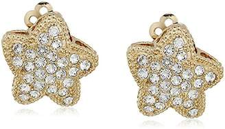 "Nina Pave"" E-Aponi Clip-On Earrings"