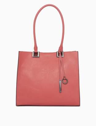 Calvin Klein pebble novelty tote bag