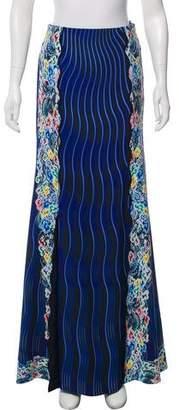 Mary Katrantzou Print Maxi Skirt