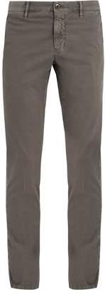 Incotex Slim-fit mid-rise trousers