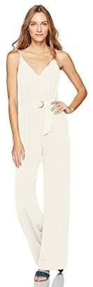 Jill Stuart Women's Spaghetti Strap Jumpsuit with Pockets