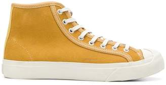 YMC lace-up hi-top sneakers
