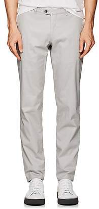 Hiltl Men's Cotton Modern-Fit Trousers - Gray Size 42