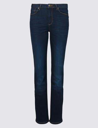 Marks and Spencer Sculpt & Lift Mid Rise Straight Leg Jeans