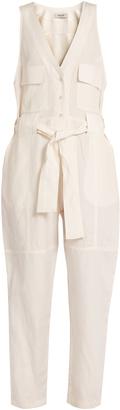 RACHEL COMEY First Mate's Suit silk-blend jumpsuit $552 thestylecure.com
