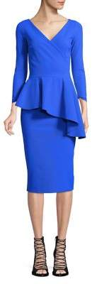 Chiara Boni Ruffled Peplum Dress