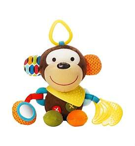 Skip Hop Monkey Bandana Pals Stroller Toy