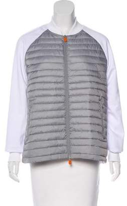 Save The Duck Colorblock Puffer Jacket