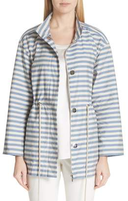 Lafayette 148 New York Jayna Vitality Stripe Jacket