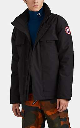 Canada Goose Men's Forester Down-Filled Tech-Faille Jacket - Black