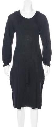 Jean Paul Gaultier Hooded Midi Dress w/ Tags
