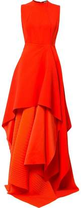 SOLACE London tiered maxi dress