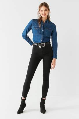 BDG Twig High-Rise Skinny Jean – Frayed Ankle