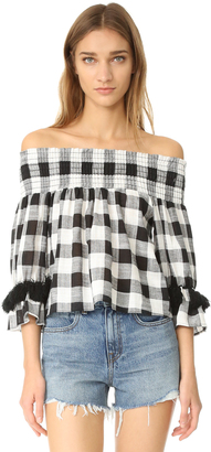 MISA Genevieve Top $207 thestylecure.com