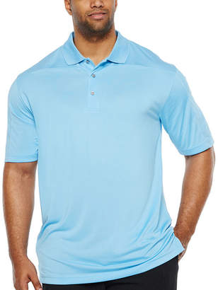 PGA Tour TOUR Mens Y Neck Short Sleeve Polo Shirt Big and Tall