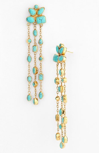 Melinda Maria 'Cluster Duster' Drop Earrings
