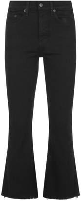Rag & Bone Cropped Kick Flare Jeans