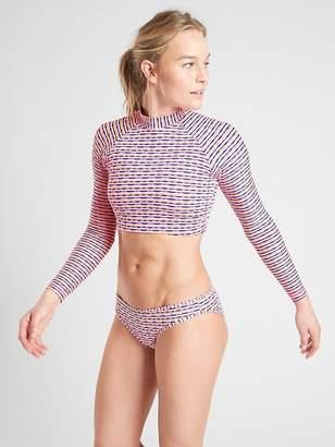 Athleta Marbella Long Sleeve Crop Rashguard