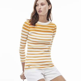 Lacoste (ラコステ) - ボーダーTシャツ (長袖)