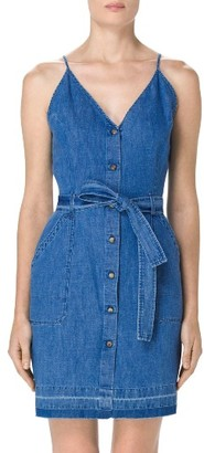 Women's J Brand Carmela Denim Dress $248 thestylecure.com