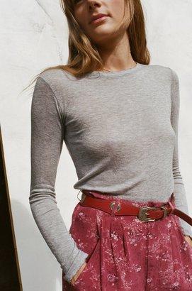 Lily Ashwell Girl Long Sleeve Tee - Grey