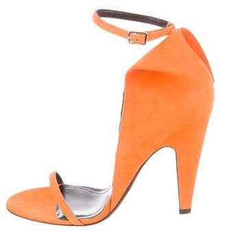 Calvin Klein Camrin Suede Sandals