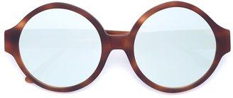 Vera Wang oversized round sunglasses $375 thestylecure.com