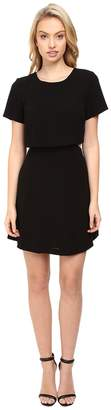 Kensie Crinkle Crepe Dress KS8K7413 Women's Dress